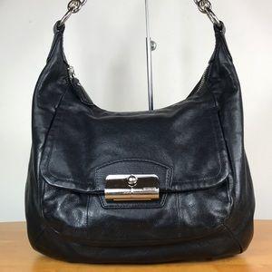 Coach 💙 Kristin Leather Shoulder Bag Hobo Purse
